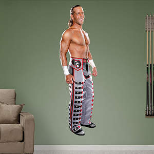 Life Size Shawn Michaels Fathead wall decal